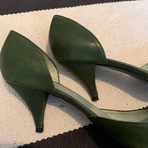 Sigerson Morrison Shoes - Sigerson Morrison green heels